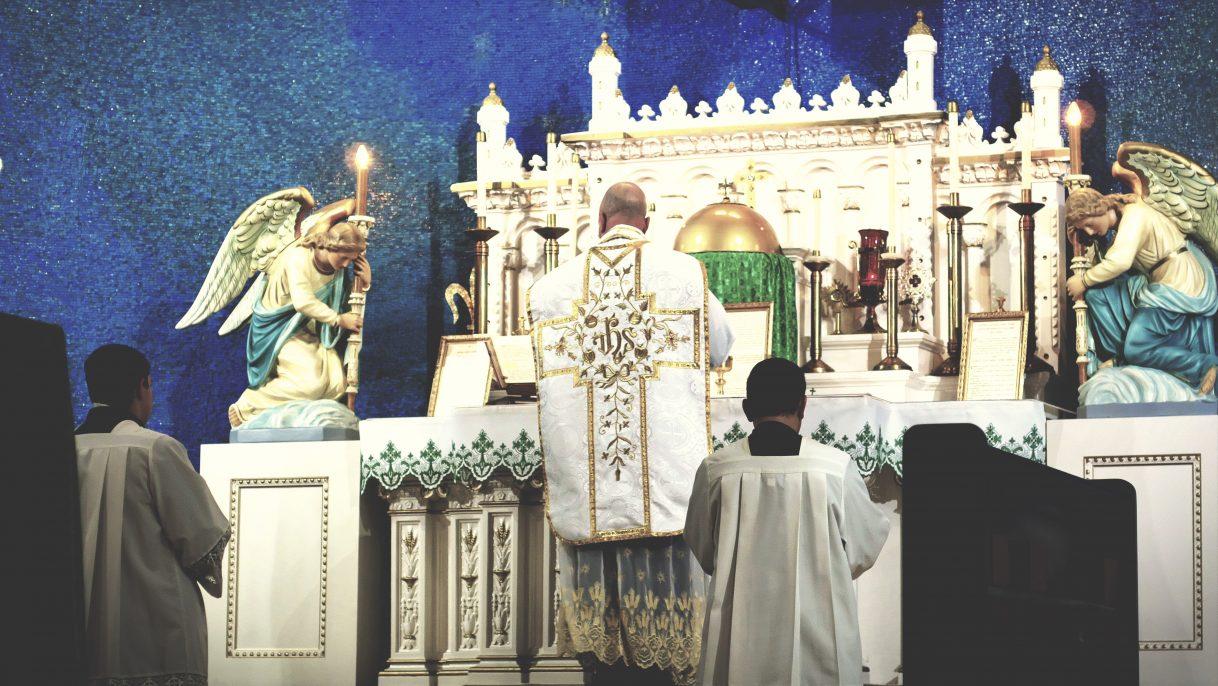 Fr. Brown_low mass