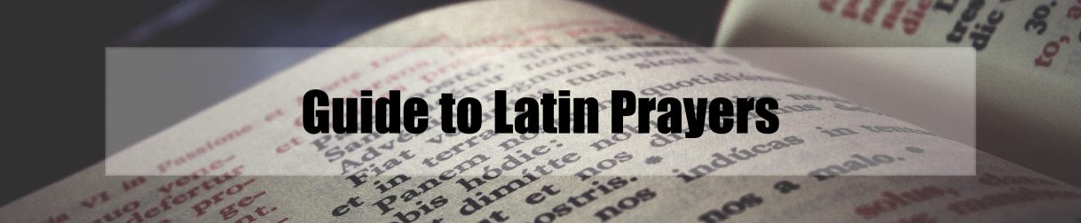 guide to latin prayers_banner