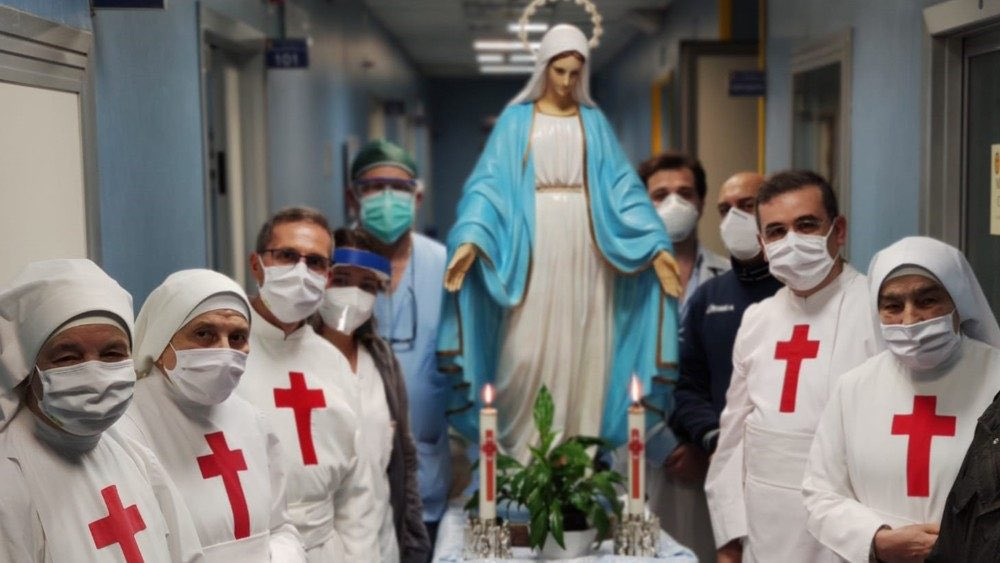 catholic nurses our lady