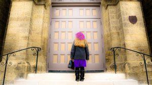 open the churches restore the sacraments